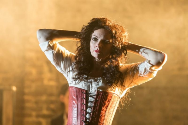 Sharon Small (The Singer) in Carmen Disruption