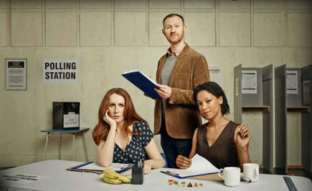 Publicity image for The Vote at the Donmar Warehouse''