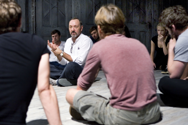 'Hugely empowering' - Kevin Spacey leads a workshop with KSF student