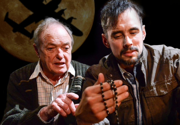 'A master class in close contact performance' - James Bolman and Steve John Shepherd in Bomber's Moon