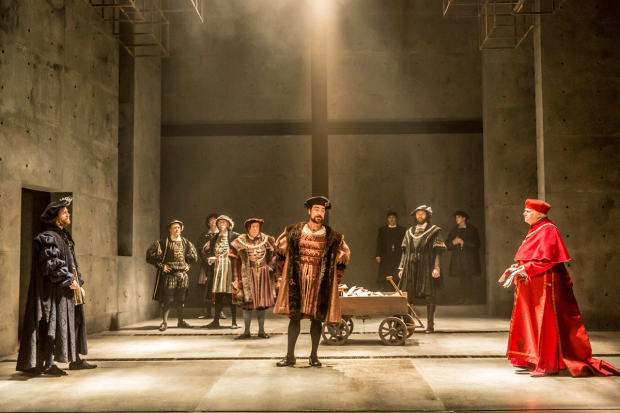 The RSC's production of Wolf Hall has 8 nominations