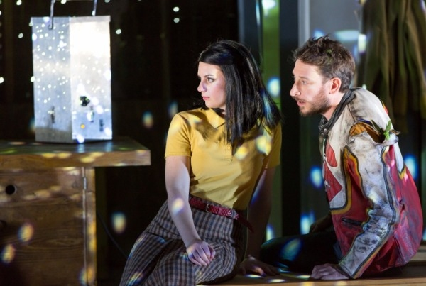 Robyn Allegra Parton as Peg and Paul Curievici as Eames in The Virtues of Things (ROH)