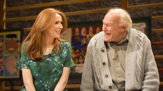 Catherine Tate and Timothy West in The Vote