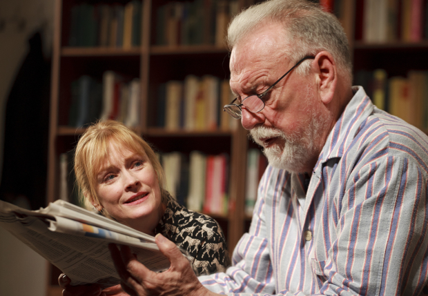Claire Skinner (Anne) and Kenneth Cranham (André)