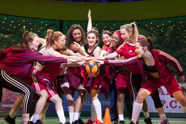 A scene from Bend it Like Beckham, which premiere next month