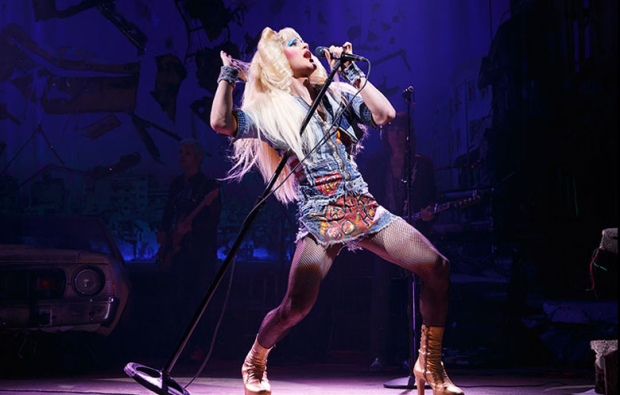 Darren Criss in Hedwig and the Angry Inch on Broadway