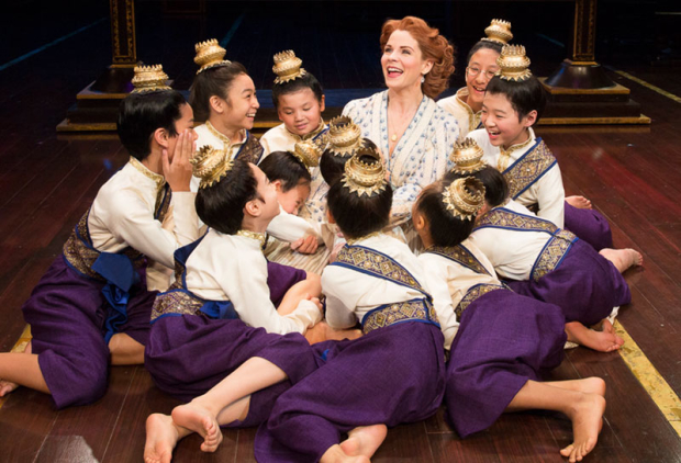 Kelli O'Hara and company in The King and I in New York''