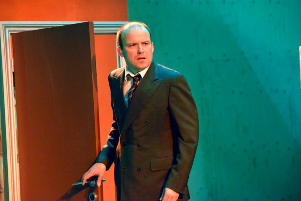 Rory Kinnear (Josef K) in The Trial at the Young Vic