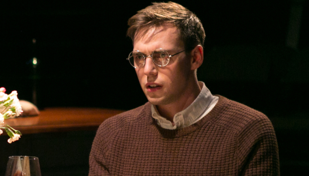 Jamie Muscato as Nathan in The House of Mirrors and Broken Hearts