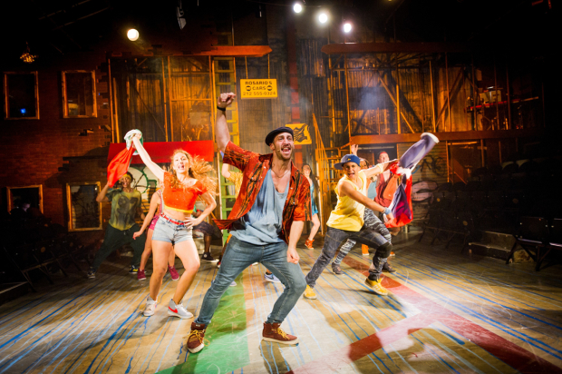 The 2014 company of In The Heights