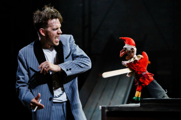 A scene from Kneehigh's Dead Dog in a Suitcase