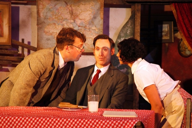 Alasdair Buchan (Ernst), Richard Ede (Otto) and Jess Mabel Jones (Ilse)