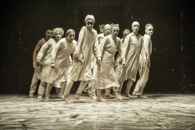 Maguy Marin Dance Company in May B (Happy Days Beckett Festival 2015)