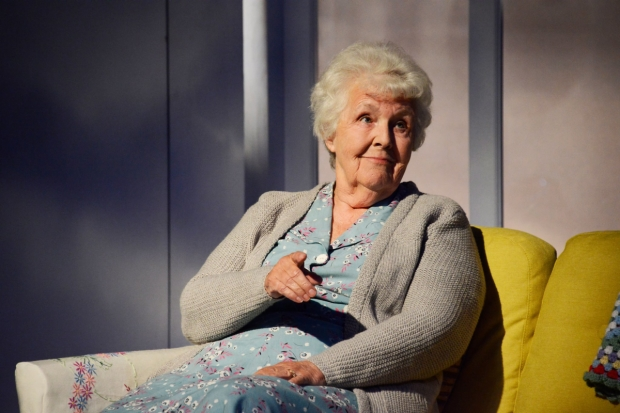 Stephanie Cole as Doris in A Cream Cracker Under the Settee