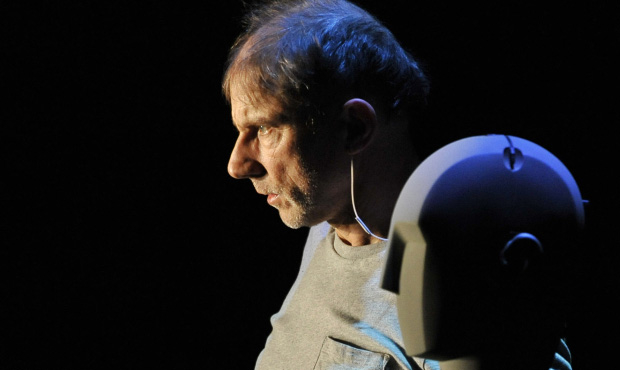 Simon McBurney in The Encounter. 'This extraordinary show is a sonic blast and a half'