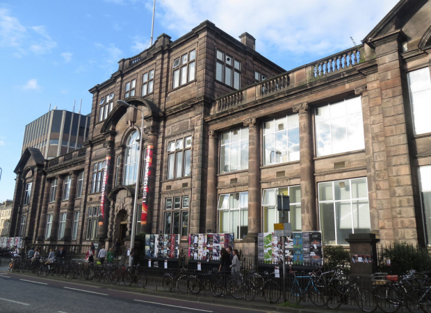 Summerhall, where Lyn Gardner said 'you could spend the entire three weeks and never be bored'