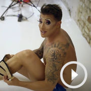 Watch Duncan James get into character for Priscilla tour