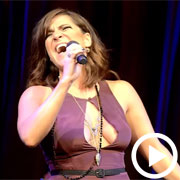 Eva Noblezada and Shoshana Bean sing Rent's 'Take Me or Leave Me'