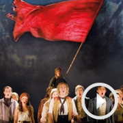 Teachers surprise conference with Les Miserables flash mob