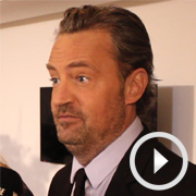 Video: Matthew Perry and cast at opening night of The End of Longing