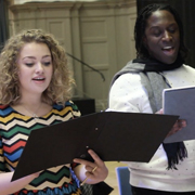 In rehearsal with: A Christmas Carol