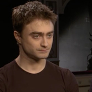 Daniel Radcliffe and cast on Rosencrantz and Guildenstern are Dead
