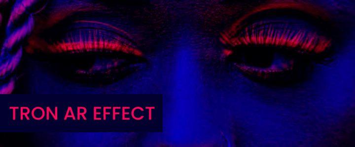 Tron AR Camera Visual Effect Instagram Filter