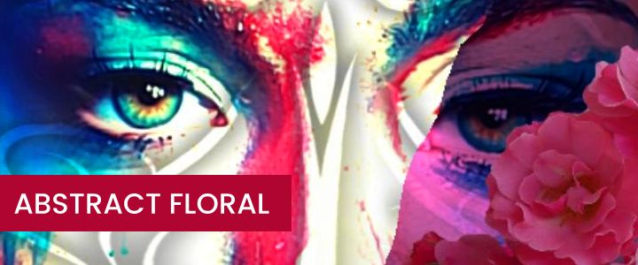 Abstract Floral AR Portrait Mask Instagram Filter