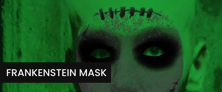 Frankenstein's Monster Face Mask Instagram Filter