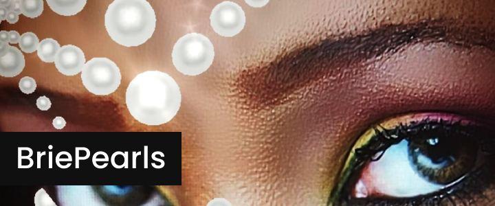 Glued Face Pearls AR Makeup Instagram Filter