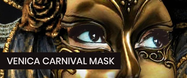 Venice Carnival Masquerade Mask Instagram Filter