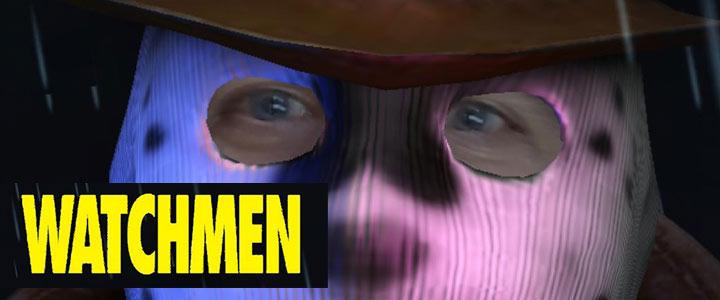 Rorschach Watchmen HBO Vigilante Mask Instagram Filter