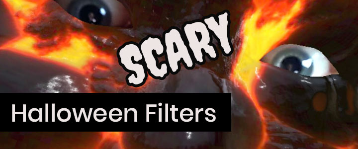 Scary Halloween Makeup & Masks Instagram Filters