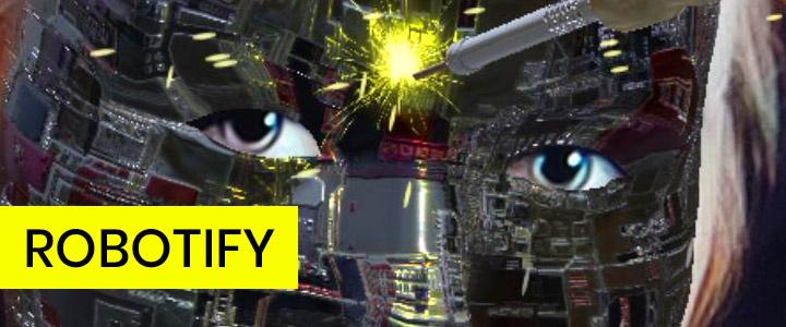 Robotify - Robot Faceplate Mask Instagram Filter