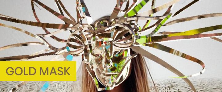 Gold Mask - VR Tilt-Brush Designed Instagram Filter