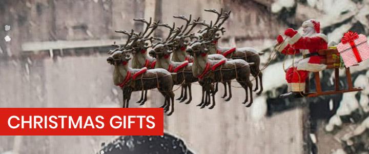 Christmas gift Instagram camera effect