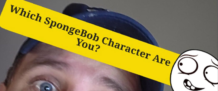 Which SpongeBob Character Are You? Instagram Filter