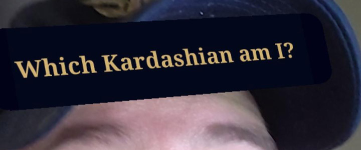 Which Kardashian Am I? Instagram Filter