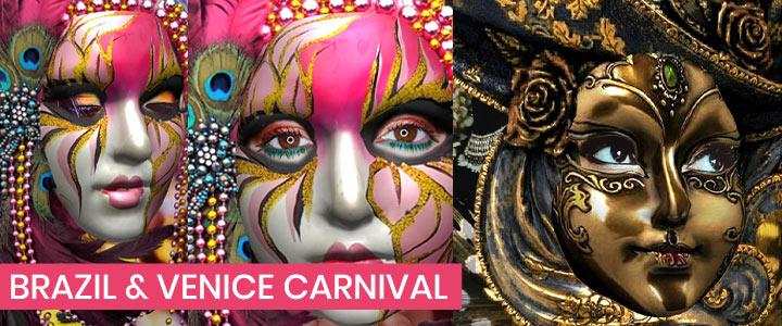 Rio Carnival & Venice Carnival 2020 Costume Filters