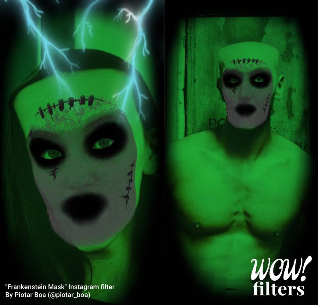 Frankenstein AR mask