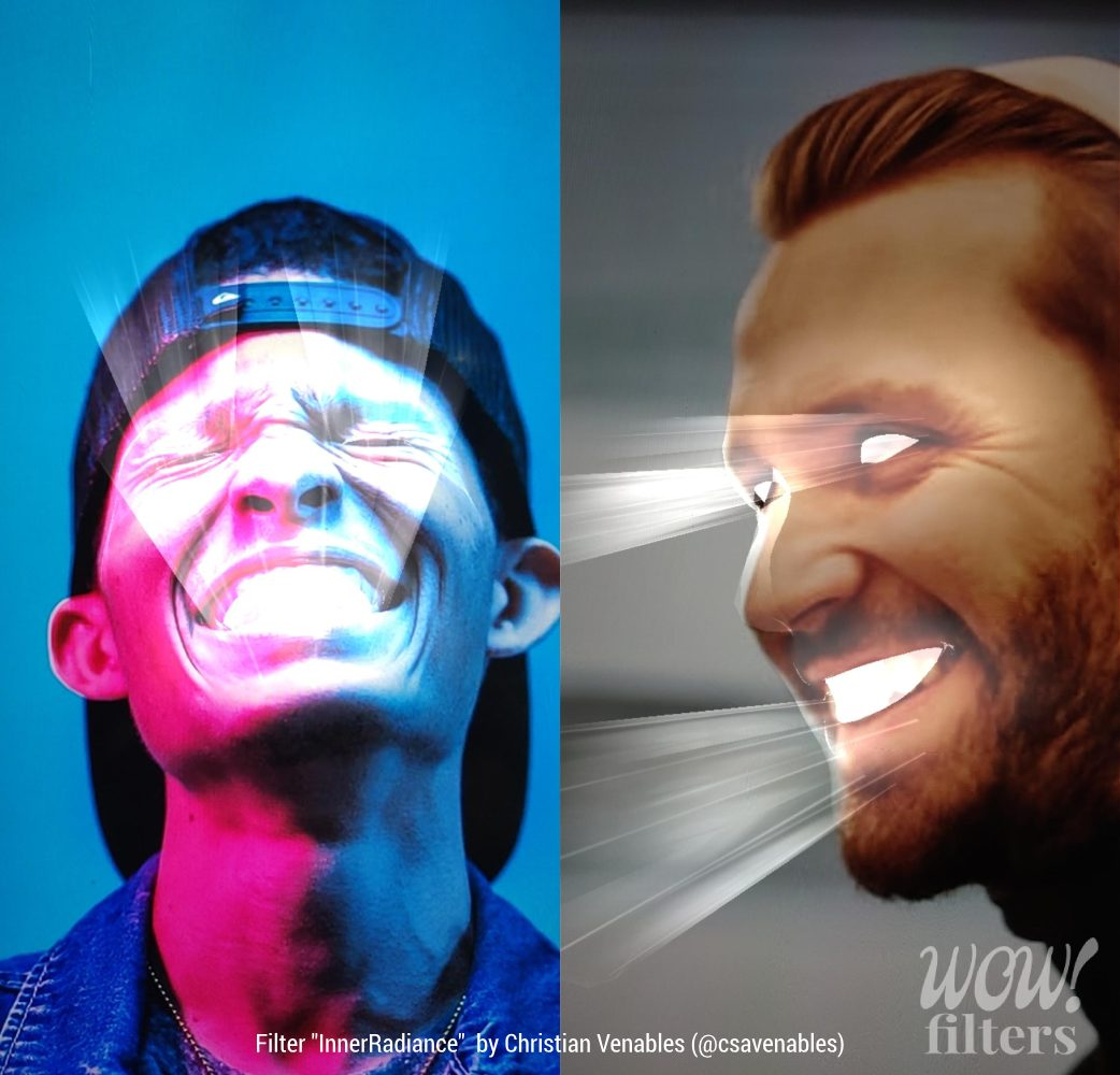 Inner Radiance Instagram effect
