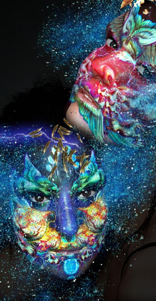 Stunning Artistic Fantasy AR Masks