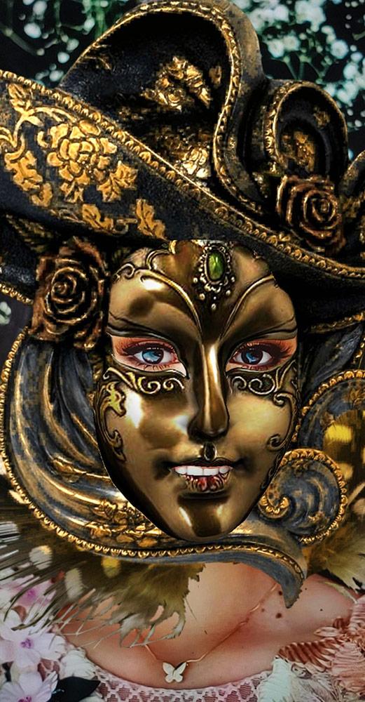 Venice Carnival Masquerade Mask