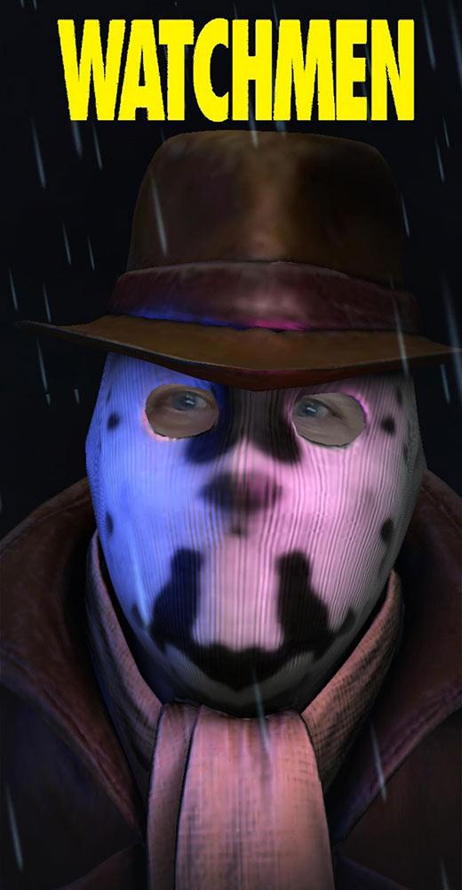 Rorschach Watchmen HBO Vigilante Mask