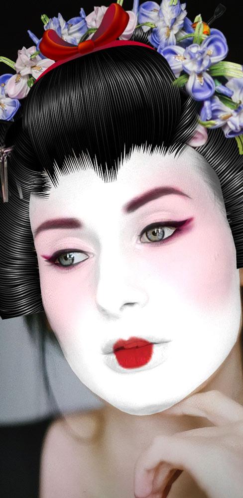 Maiko Cosplay Costume & Makeup