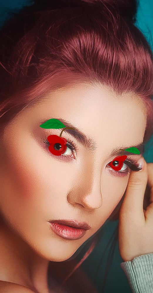 Cherry Eyes - Makeup Effect