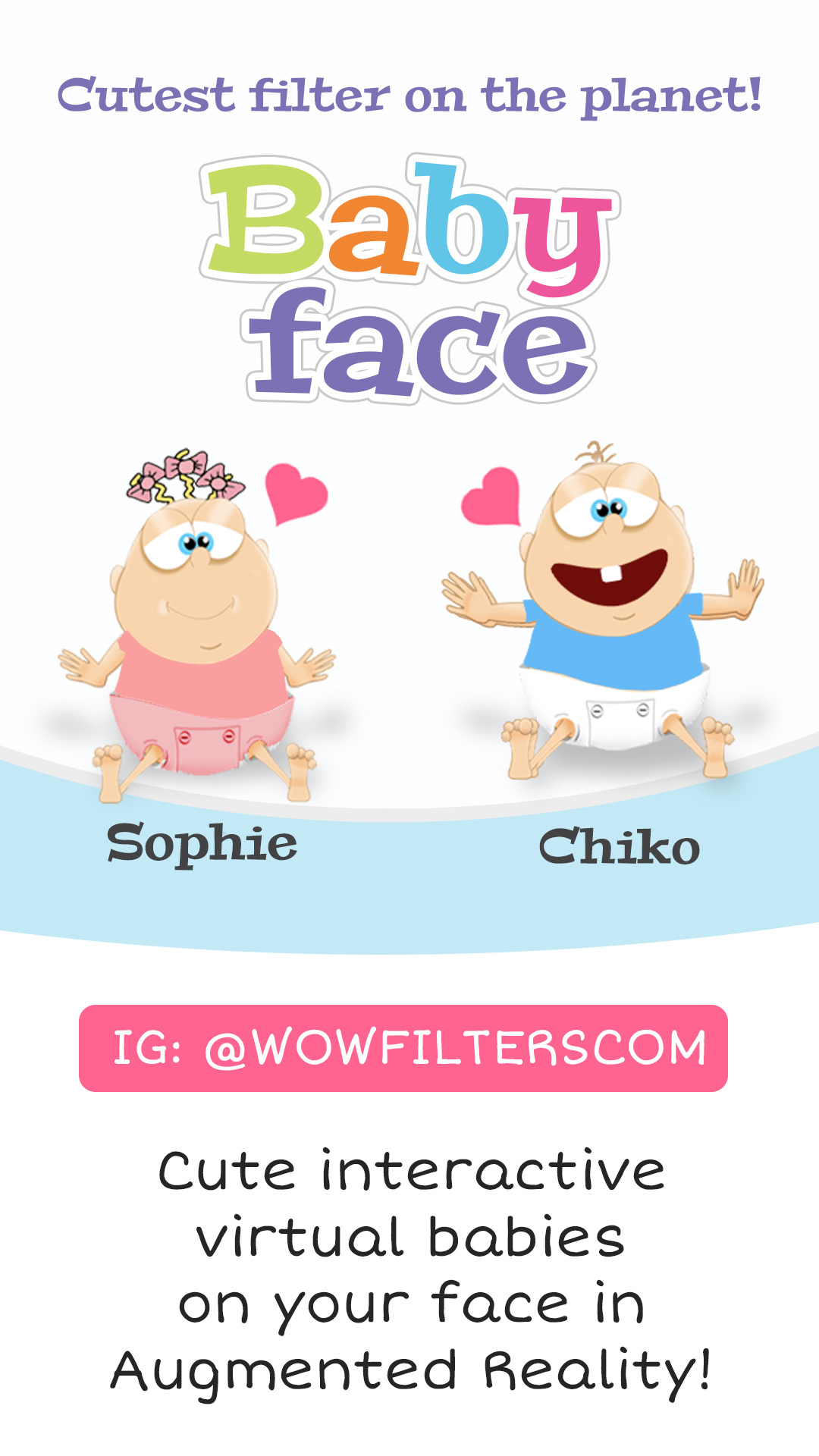 Baby Face - Cute Interactive Virtual Babies