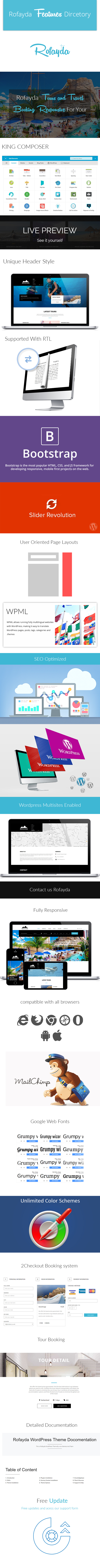 Rofayda Tour booking WordPress Theme