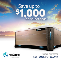 The Annual Hot Spring Rebate Event!