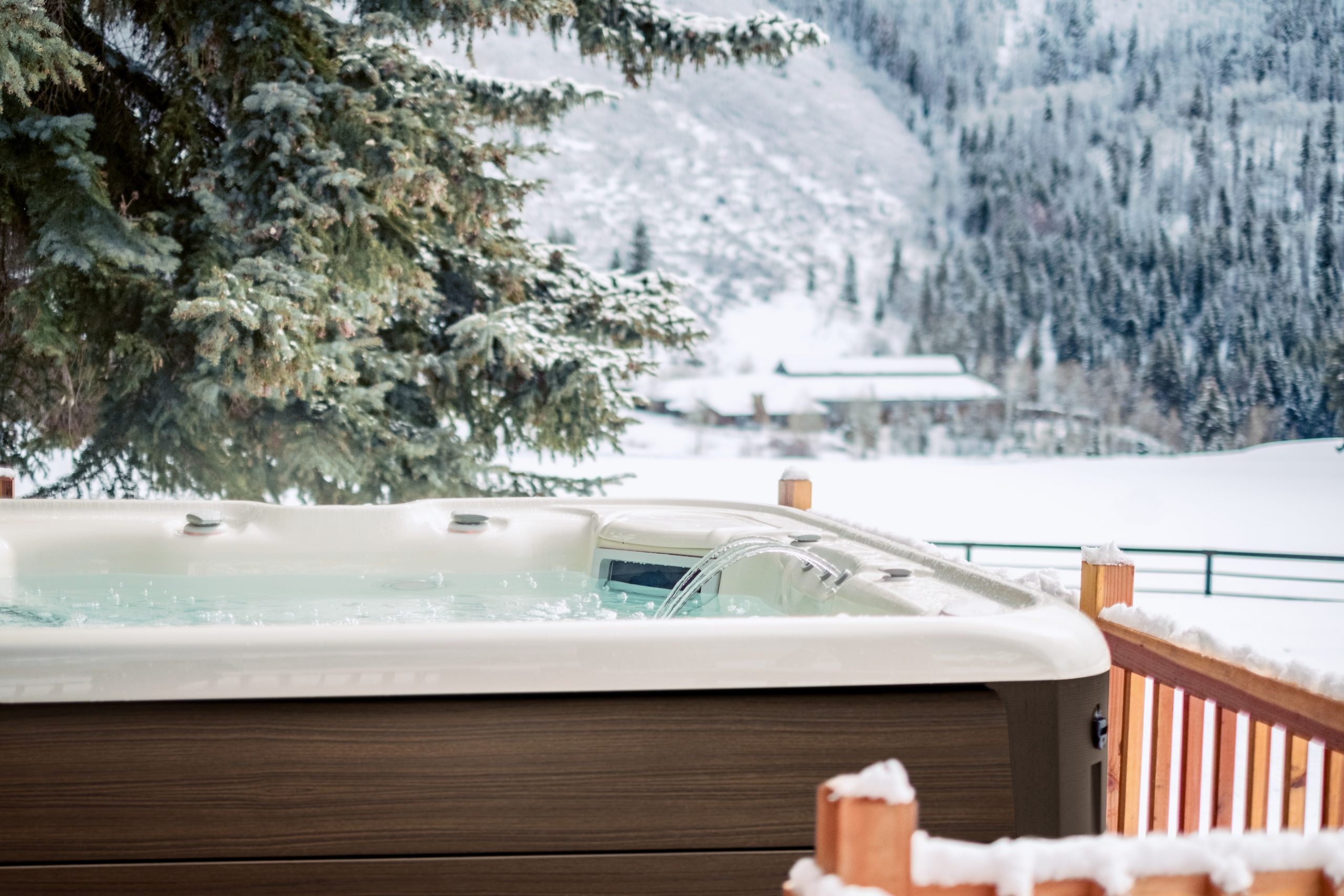 Beat The Winter Blues With A Hot Tub